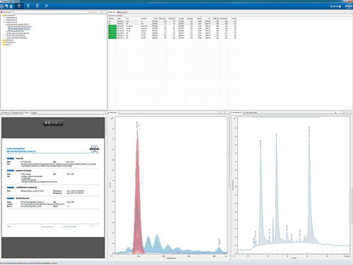 analysis software / reporting / for mass spectrometry / for the pharmaceutical industry