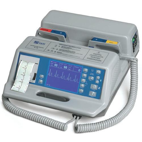 manual external defibrillator