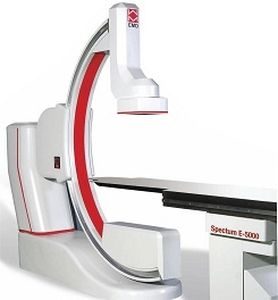 fluoroscopy system / digital / for cardiovascular fluoroscopy / with floor-mounted C-arm