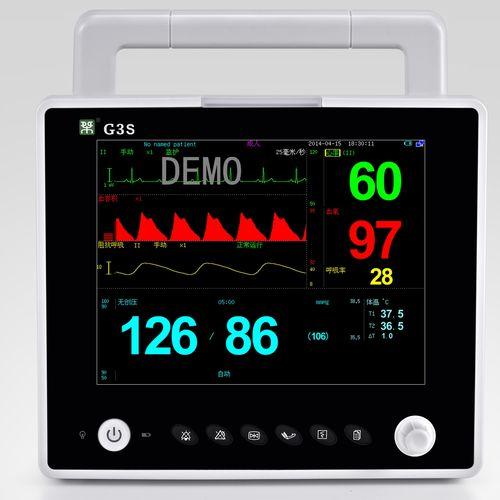 ECG patient monitor / respiratory rate / temperature / CO2
