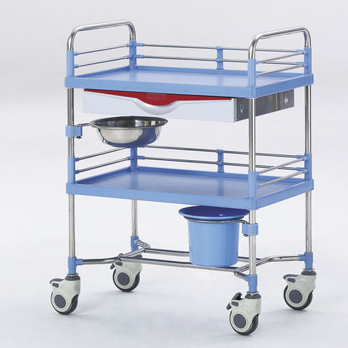 treatment trolley / transport / loading / for general purpose