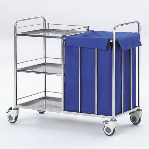 treatment trolley / transport / for general purpose / waste