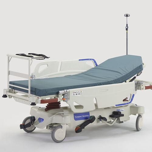 emergency stretcher / for ambulances / with adjustable backrest / height-adjustable