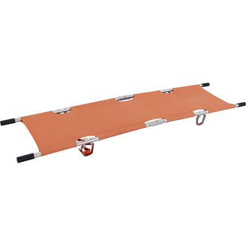 emergency stretcher / rescue / folding / adjustable