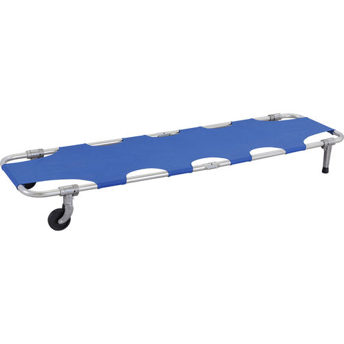 emergency stretcher / rescue / foldable / 2-section