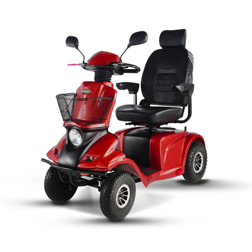 Electric mobility scooter - KS-848 - Karma Medical Products - 4-wheel / with basket