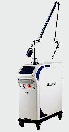 dermatology laser / Er:YAG / trolley-mounted