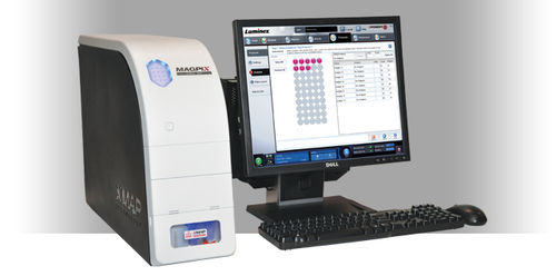 multiplexing immunoassay analyzer / automatic / compact / human