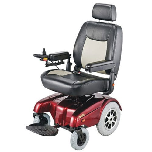 electric wheelchair / bariatric / outdoor / with headrest