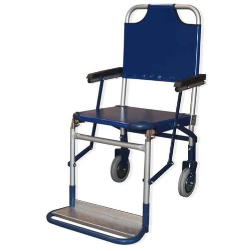 outdoor transfer chair / on casters / folding