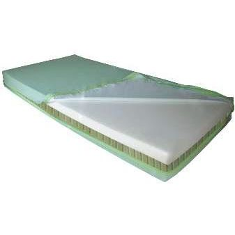 hospital bed mattress / latex / bariatric / anti-decubitus