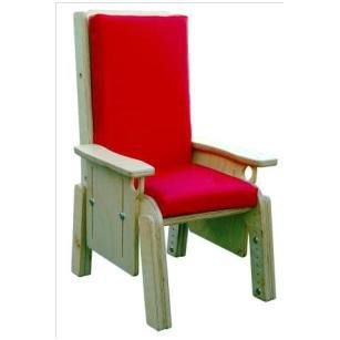 waiting room chair / with armrests / pediatric / reclining