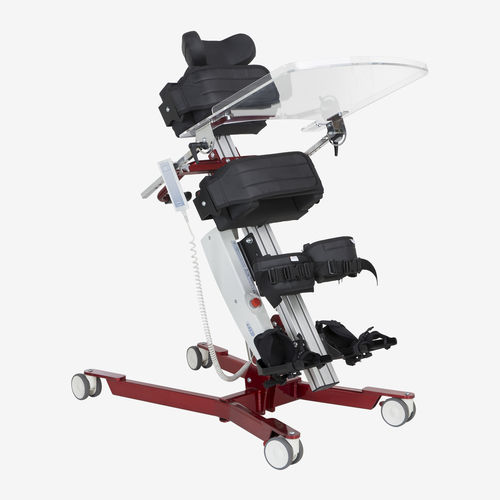 electric stander / on casters / pediatric