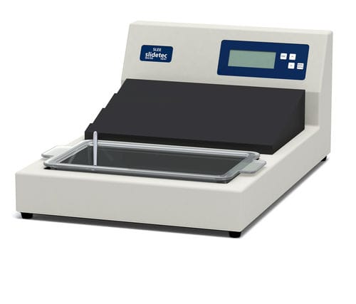 water bath with dryer / for histological sections / microprocessor-controlled / benchtop