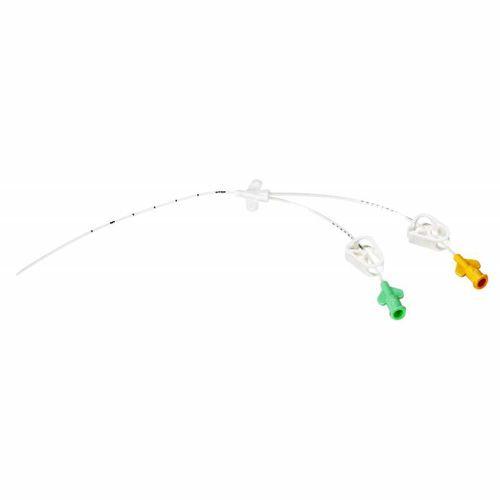 access catheter / central venous / double-lumen / pediatric