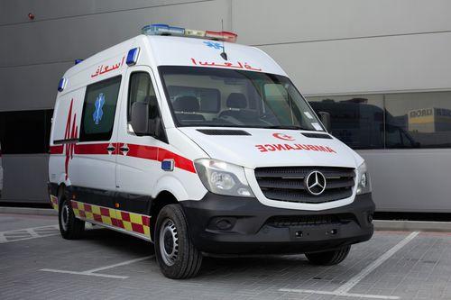 van ambulance / box / type B