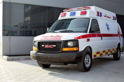 van ambulance / type B