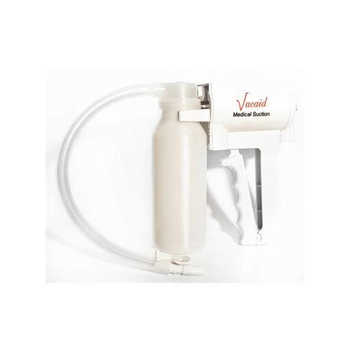 manual mucus suction pump / portable