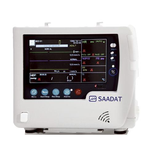 ECG multiparameter monitor / TEMP / RESP / NIBP