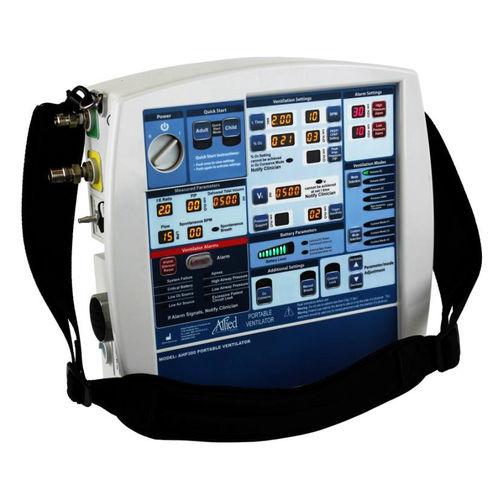 electronic ventilator / transport / infant / adult