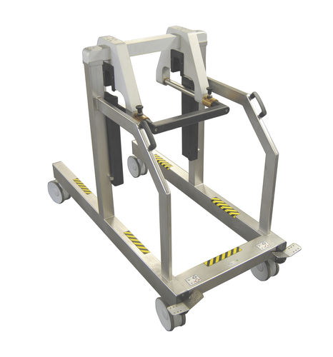 cleaning trolley / for operating tables