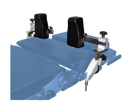 shoulder support / for operating tables / height-adjustable / adjustable