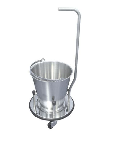 single basin stand / stainless steel