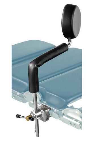 lateral support / shoulder support / backrest / for operating tables