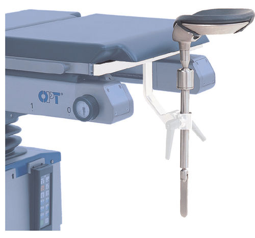 headrest / for operating tables / height-adjustable / adjustable