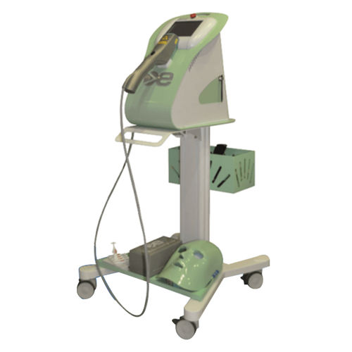 dry eye treatment IPL system / trolley-mounted