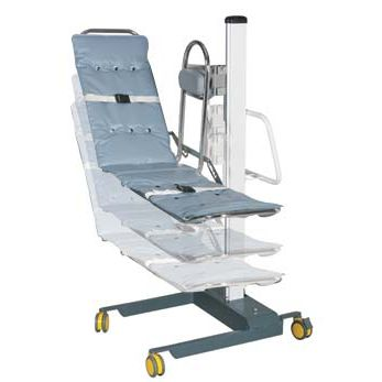 electric shower stretcher / height-adjustable