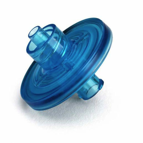 syringe filter / for liquids / polyethersulfone / sterile