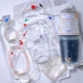 CRRT treatment hemofilter