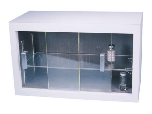 radioactive isotope cabinet / laboratory / lead-lined