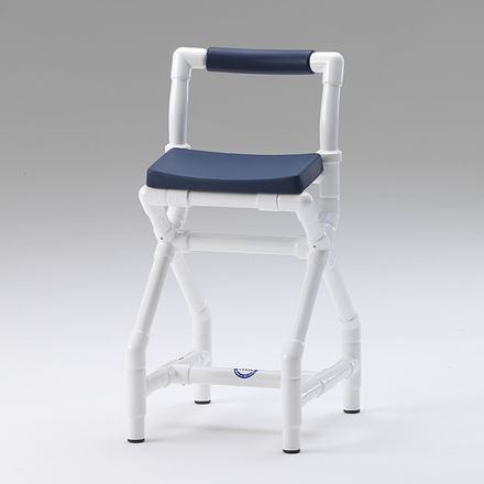 shower stool / with backrest