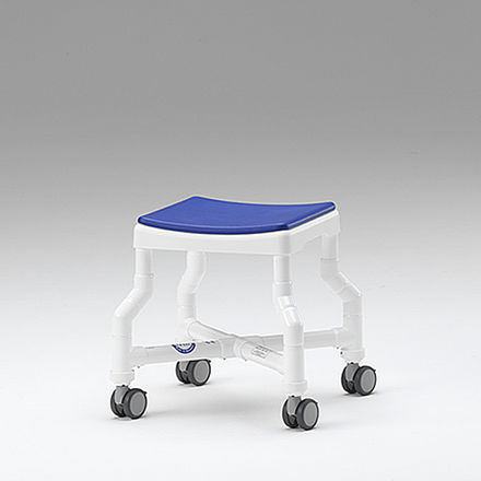 healthcare facility stool / swivel / on casters / non-magnetic