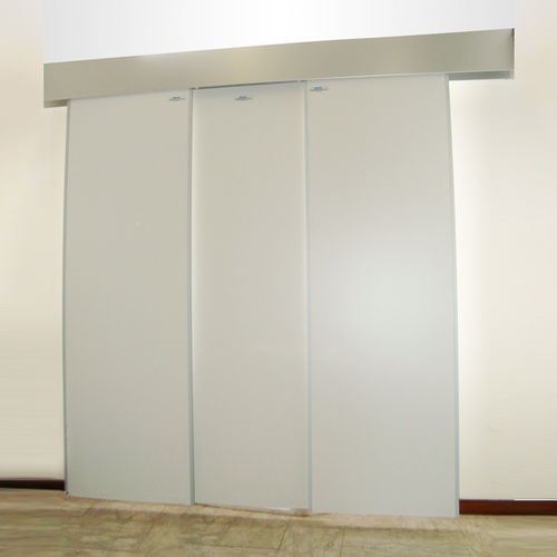 X-ray radiation shielding screen / ceiling-mounted