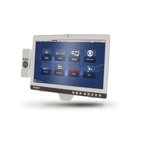 waterproof patient infotainment terminal