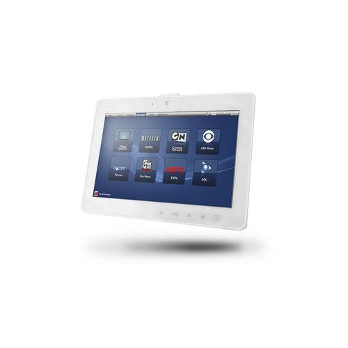 touch screen patient infotainment terminal