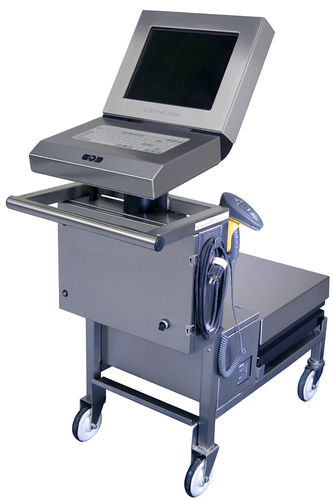weighing workstation / on casters