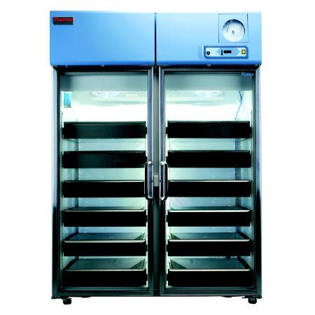 blood bank refrigerator / cabinet / 2-door