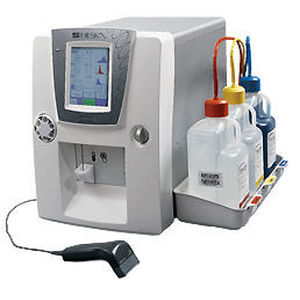 20-parameter hematology analyzer / in 3 populations / for animals / electrical impedance