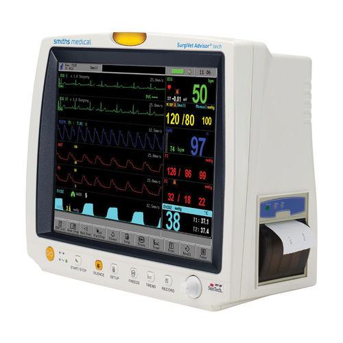 multi-parameter ECG monitor / SpO2 / NIBP / EtCO2