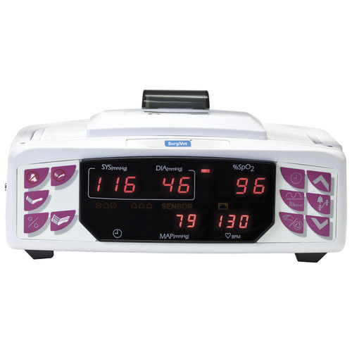 heart rate patient monitor / NIBP / veterinary / tabletop