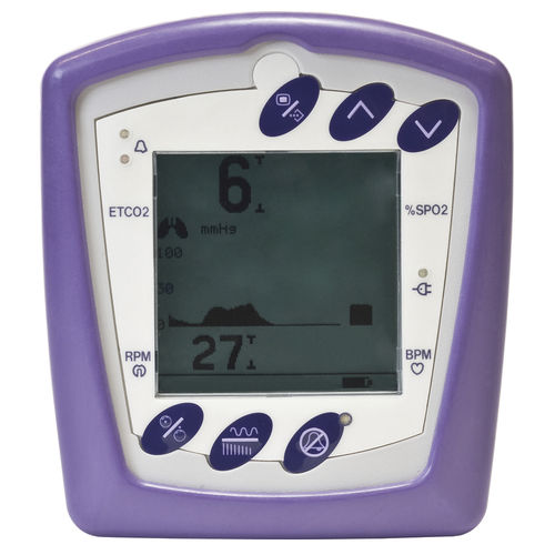 CO2 patient monitor / veterinary / handheld / for animals