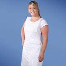 medical apron / women's / disposable