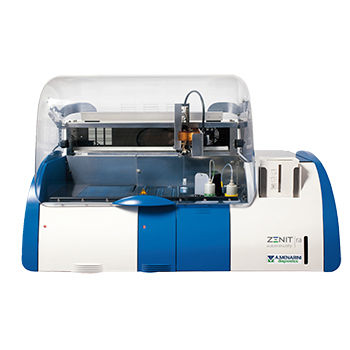 automatic immunoassay analyzer / for clinical diagnostic / benchtop / chemiluminescence