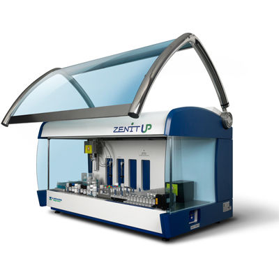 automatic immunoassay analyzer / bench-top / IFT / ELISA