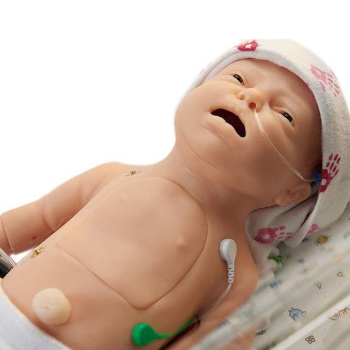 resuscitation patient simulator / airway management / ECG / breathing