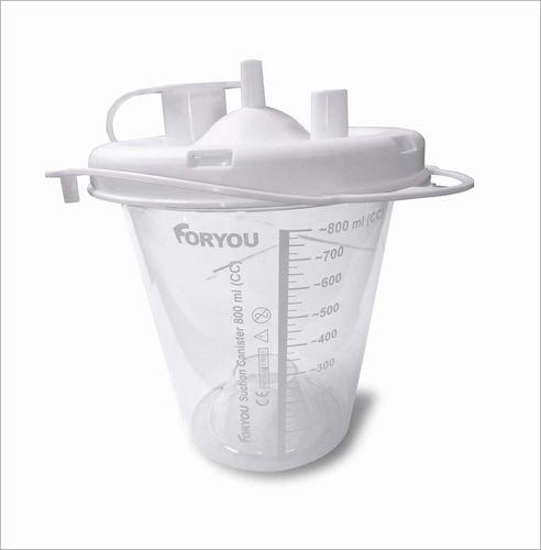 surgical suction pump jar / plastic
